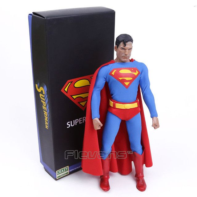 "Crazy Toys Superman 1/6th Scale Action Figure Collectible Figure 12"" 30cm"