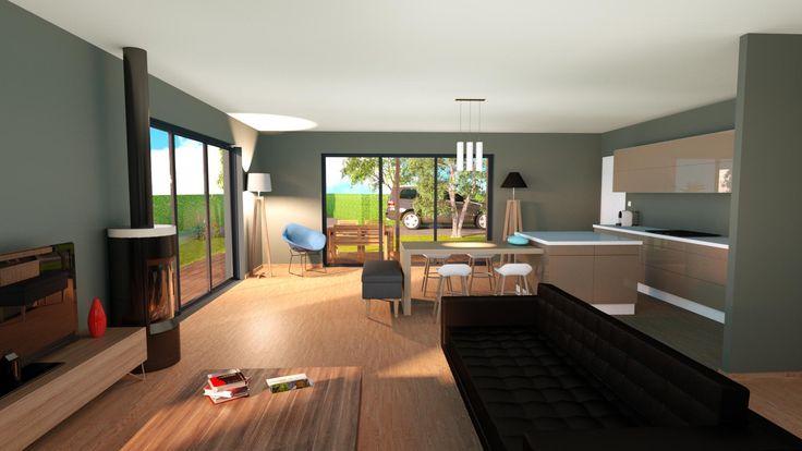 maison booa projet fait partir du mod le moov5 voir sur. Black Bedroom Furniture Sets. Home Design Ideas