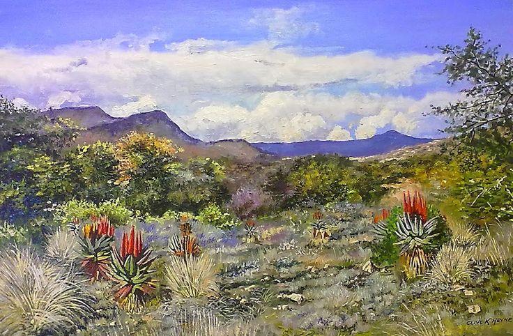 600 X 900mm -Karoo Landscape - SOLD