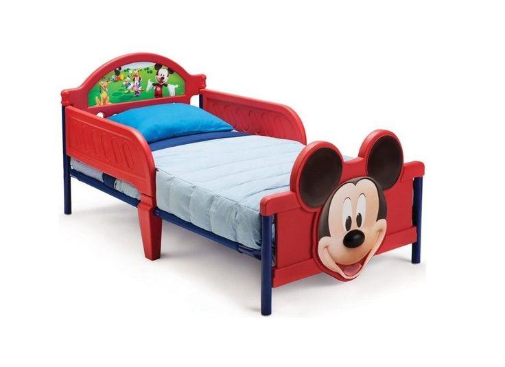 Mobila si decoratiuni : Pat pentru copii Disney Mickey Mouse | | Lenjerii de pat