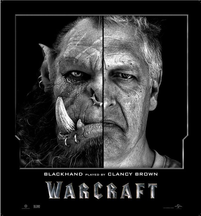 Side by Side Comparisons of Warcraft Actors and Their CGI Characters