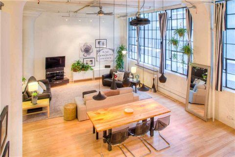 Authentic Hard #Loft for #Sale at the Wrigley Lofts 245 Carlaw Ave 210A