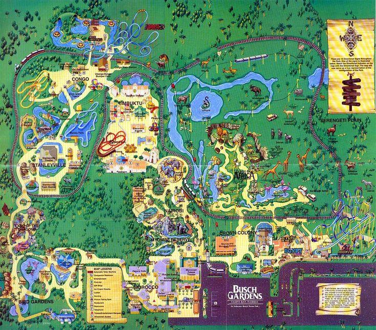 166 Best Theme Park Maps Images On Pinterest