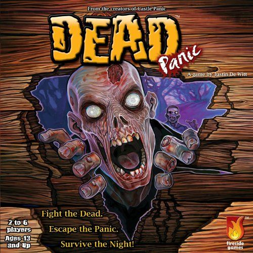Dead Panic Board Game. Put your Zombie Apocalypse team to the test with this cooperative board game.