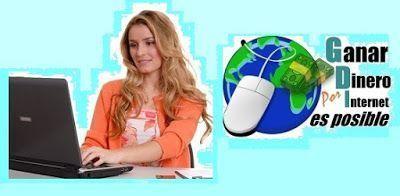 Es Verdad Que Se Puede Ganar Dinero Por Internet Sin Tener Pagina Web: 4 Pasos Online?.  Blog para Generar Ingresos Online Desde Casa