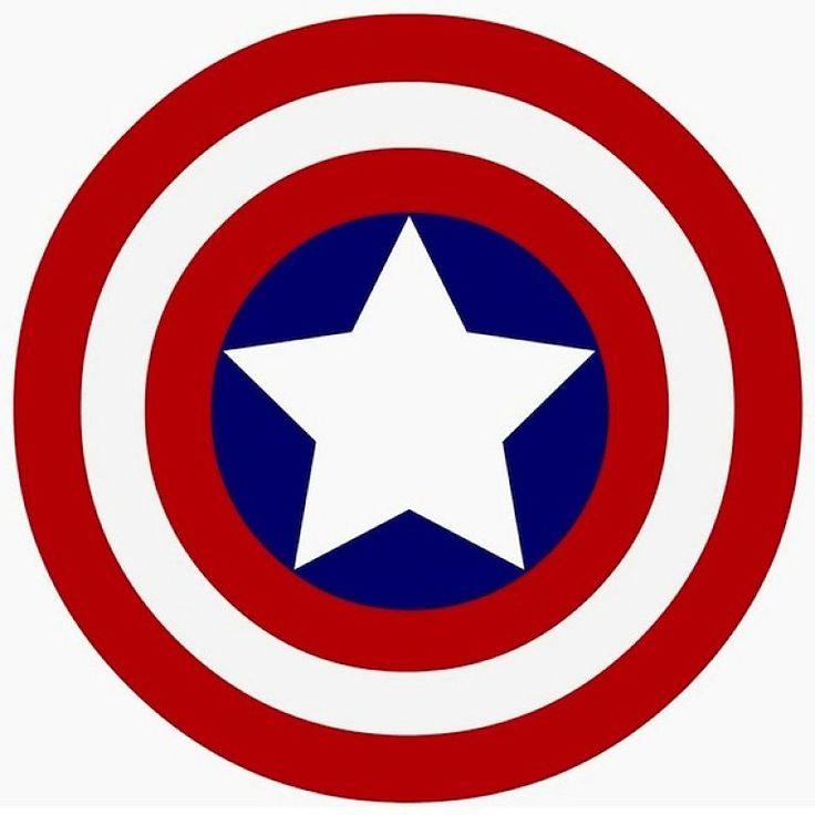 capitan america escudo para imprimir - Buscar con Google