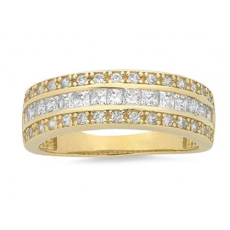 9ct Yellow Gold Ring. Sku: BC176029