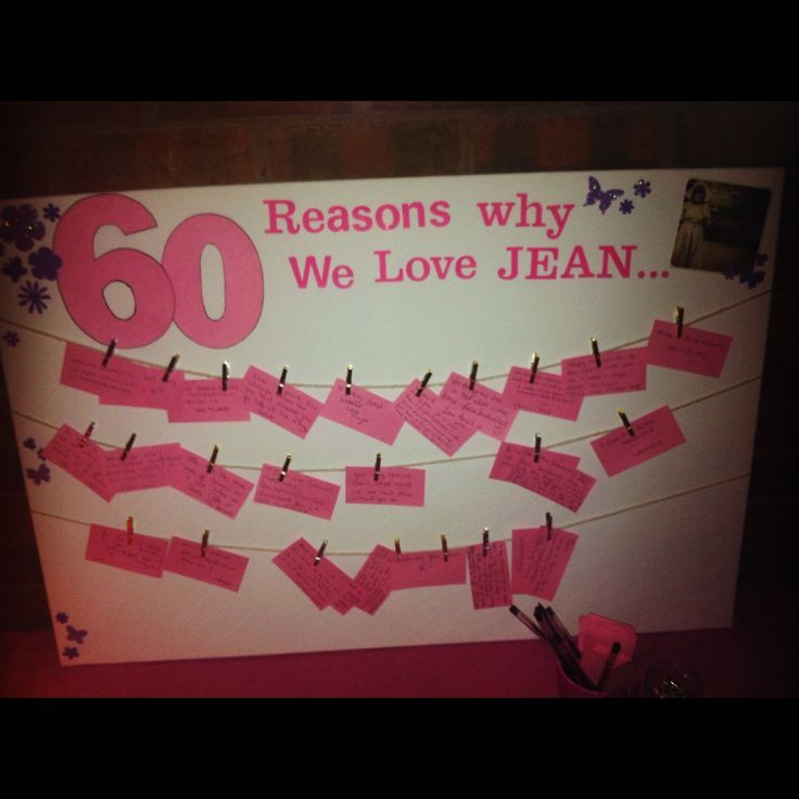 60th birthday party ideas for women 60 reasons we love for 60th birthday decoration ideas