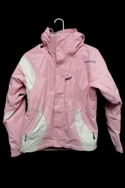 9.90$  Watch now - http://vittk.justgood.pw/vig/item.php?t=wzsm2c53671 - BONFIRE Pink Hooded Jacket Ski Snowboard Zip Up Lined Coat Women's XS