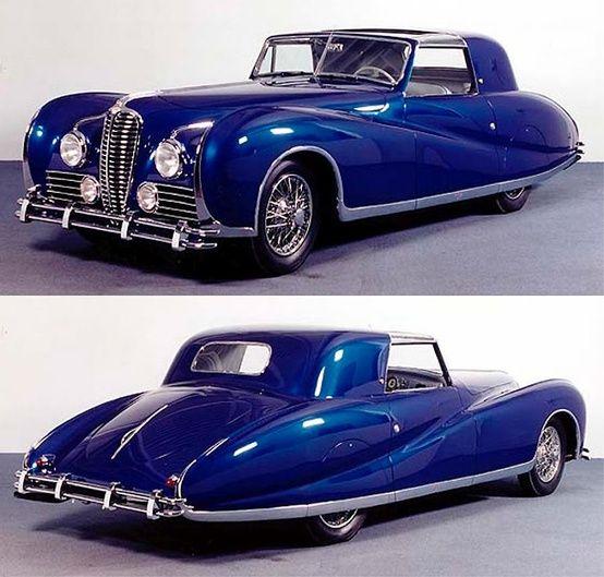 1947 Delahaye 175S Aerodynamic Coupe ★。☆。JpM ENTERTAINMENT ☆。★。