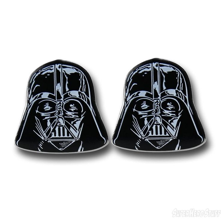 Star Wars Darth Vader Helmet Cufflinks