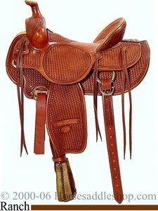 Billy Cook High Country Rancher - Ranch Saddle - Original Billy Cook Saddles      Mouse Over Main Image to Zoom        Item Number: bi2175  Reg Price:$1,915.80  Sale Price:$1,596.50