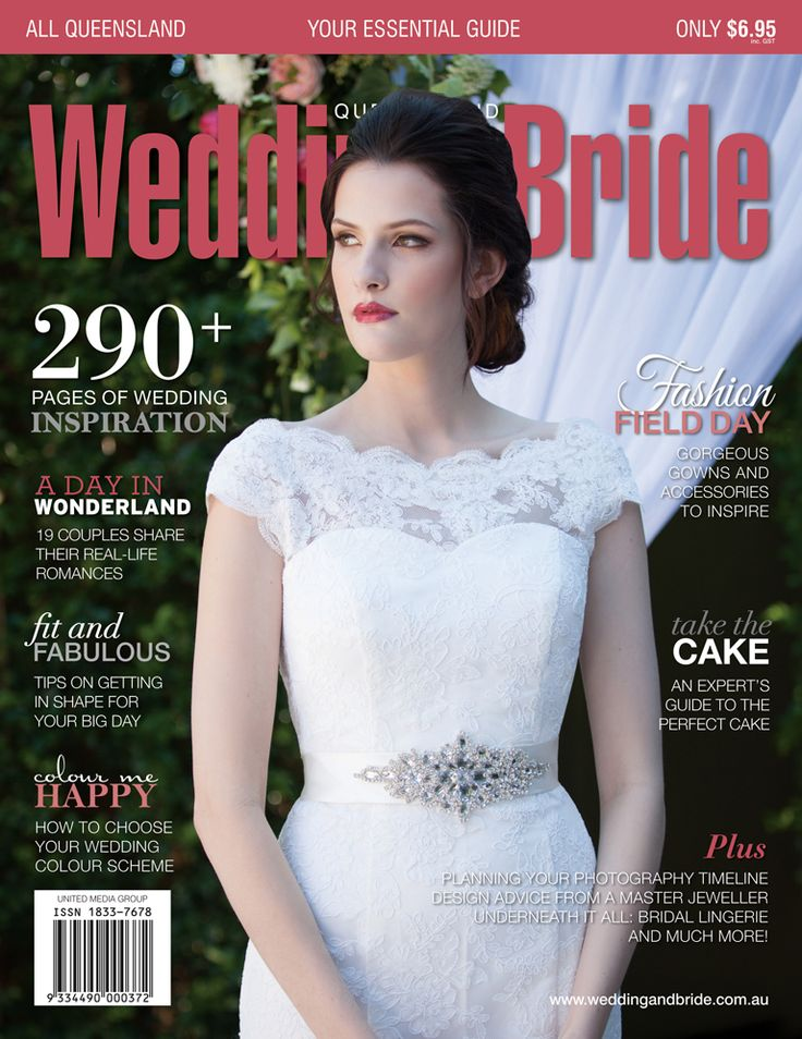 Queensland Wedding & Bride issue 11 cover.