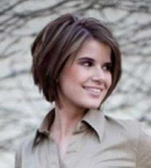 14.Layered Short Hair