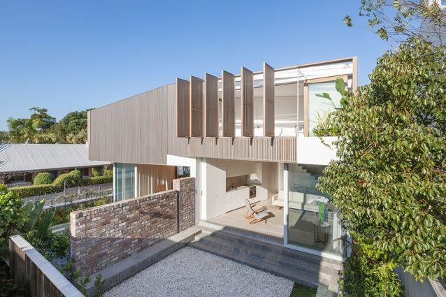 Balmain Houses by Benn + Penna Architecture.