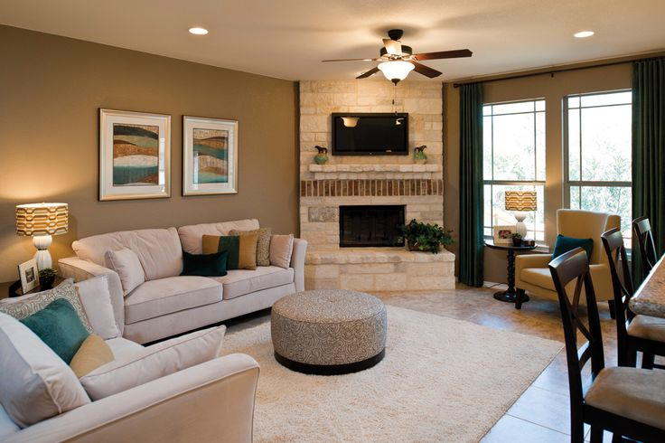About Family Rooms On Pinterest Family Rooms Corner Fireplaces