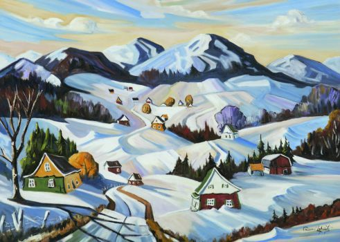 Winter in Charlevoix (117 pieces)