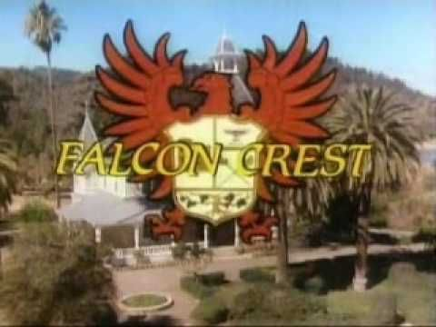 The intro of the first season of Falcon Crest (1981 - 1982) I was a bigger fan of Falcon Crest than either Dallas or Knotts Landing.