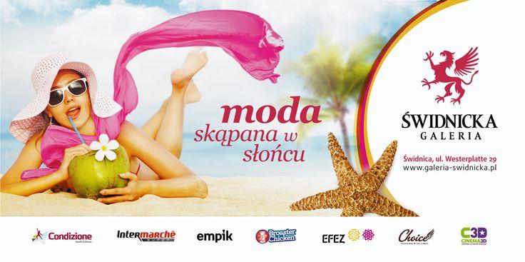 GALERIA ŚWIDNICKA / moda skąpana w słońcu