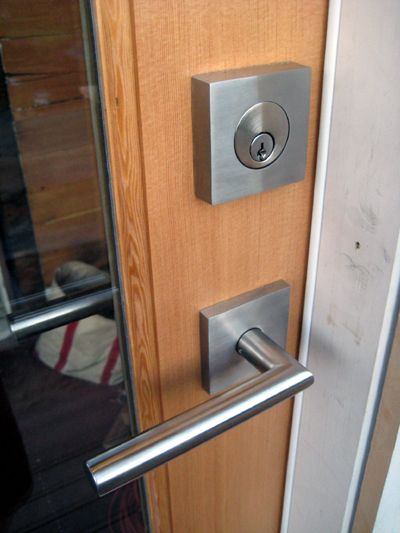 Zerbey Residence. Seattle, WA. Door Hardware: Emtek stainless ...