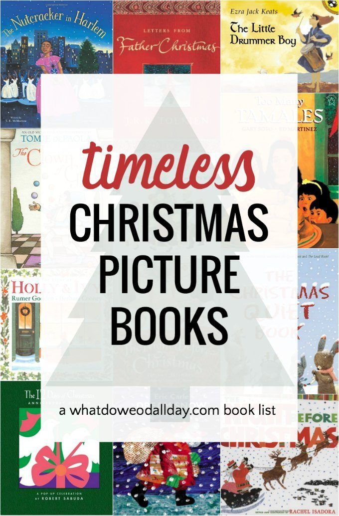 Timeless Children's Christmas Books You Will Read Year