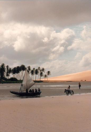 Jericocoara Beach, Ceara, (NE) Brazil