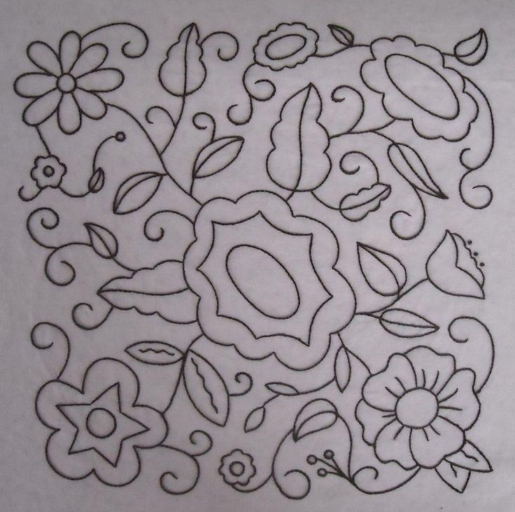Hazel's Summer Wildflowers, Block 2 | The Life of Hazel Ilene