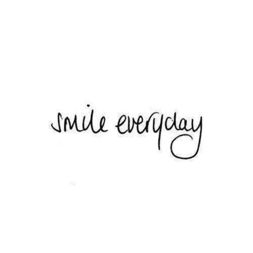 """Cute Smile Quotes For Facebook: Smile Everyday. Del Muro FB De """"El Albergue Del Alma"""