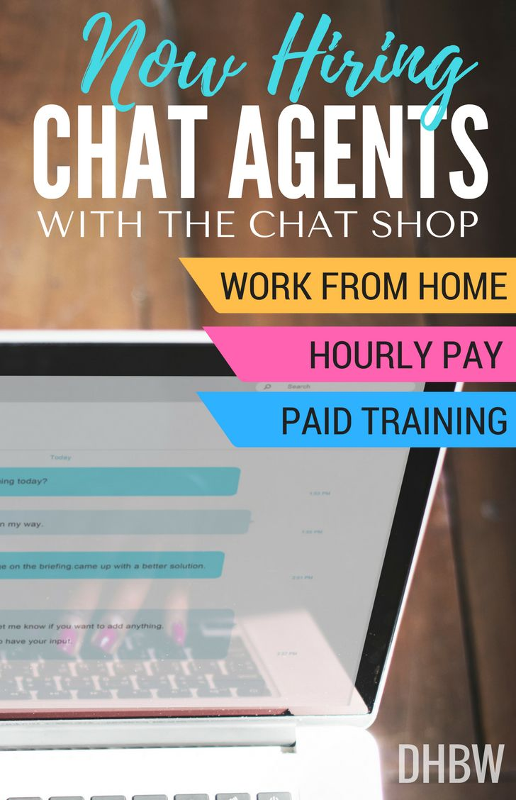 If you are a fast and accurate typist and love helping people, you can get paid to chat live online. The Chat Shop is hiring home-based Chat Agents.