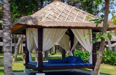 60 Desain Gazebo Minimalis Bambu dan Kayu   Desainrumahnya.com