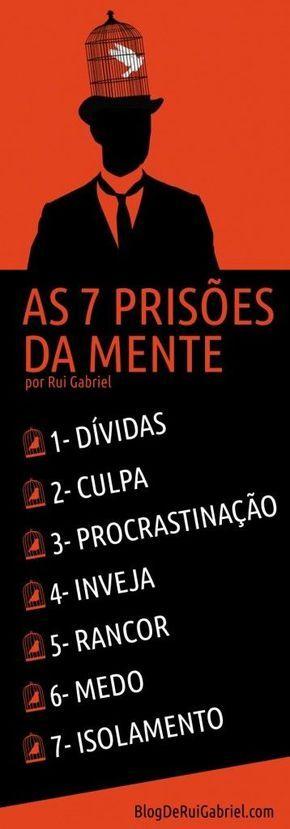 INFOGRAFICO 7 Prisões da Mente por Rui Gabriel