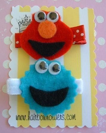 elmo and cookie monster clippies