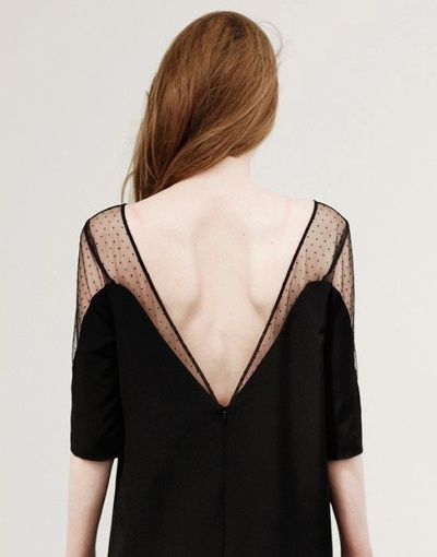 Le plumetis : l'un des meilleurs alliés de la petite robe noire (Sézane)
