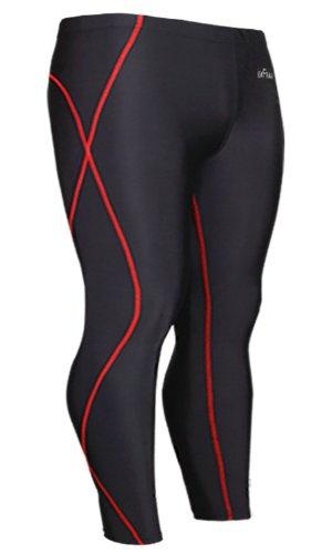 Amazon.com: emFraa Skin Tights Compression Leggings Base layer Running Pants men women XS ~ 2XL: Sports & Outdoors