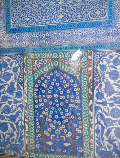 Topaki palace tiles, Istanbul, Wouldn't this make a gorgeous theme for a quilt?! Istanbul is my favorite city in the world