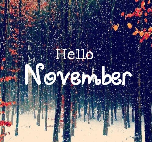 Hello November - Tap to see more awesome November quotes wallpapers! | @mobile9