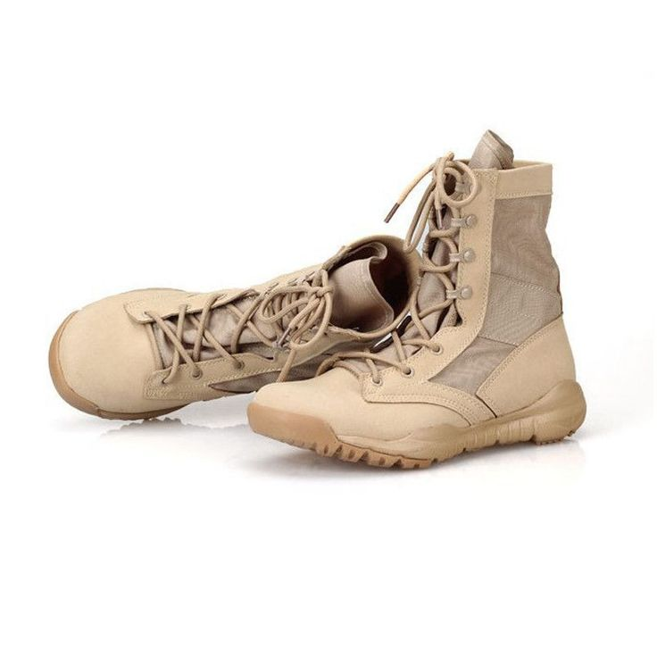 CQB Lightweight Breathable High Help Tactical Boots Outdoor Desert Boot Fashion Casual Men Martin Boots Air Military Men Boots