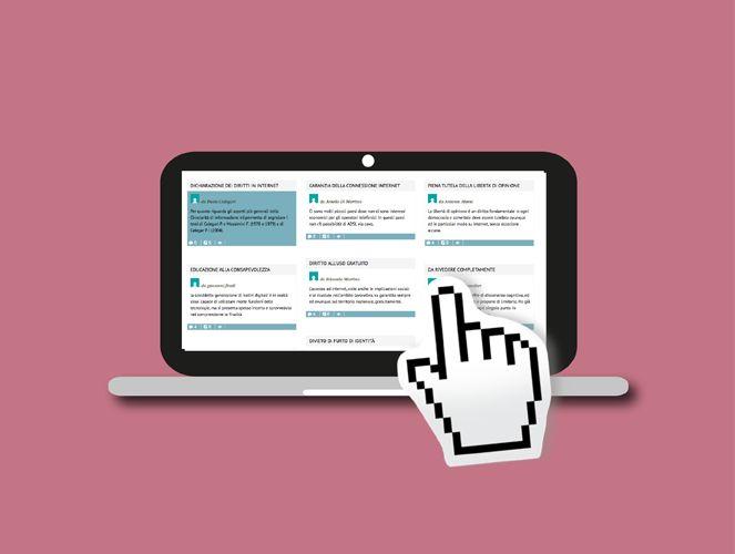 La Dichiarazione dei diritti in Internet, siamo tutti chiamati a partecipare « valentina sanesi.info