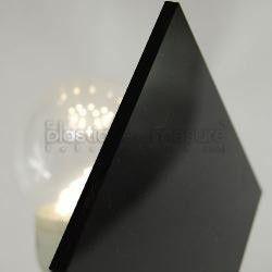 Plaque - polystyrene - choc - noir - 1290x1200 - 4mm