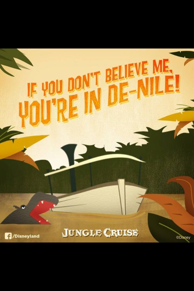 This is my favorite quote of my entire Jungle spiel. Absolutely hate it when guests ruin it though.