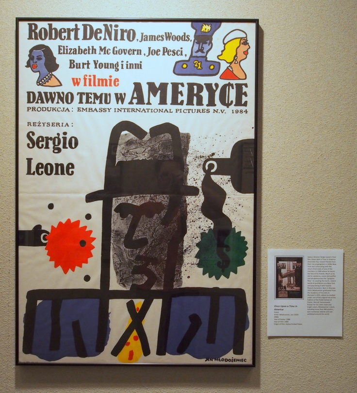 Once Upon a Time in America (Polish poster)