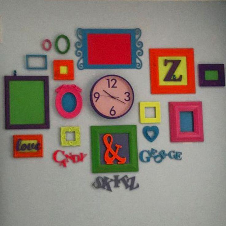 Cute idea for my dorm room walls! #dormroomideas #collegehacks #goals