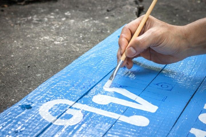 Aquarellfarben Auf Holz Auftragen Anleitung Fur Wasserfarben Auf