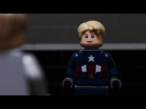 ▶ Lego Captain America The Winter Soldier Trailer #1 - YouTube