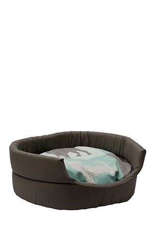 """With this bed your furry friend will be sleeping in style and matching your decor. It is the perfect size for small to medium sized dogs, and cats.<div class=""""pdpDescContent""""><BR /><b class=""""pdpDesc"""">Dimensions:</b><BR />L50.5xH19 cm</div>"""