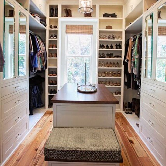 I wish my life was as organized as this custom closet we ...