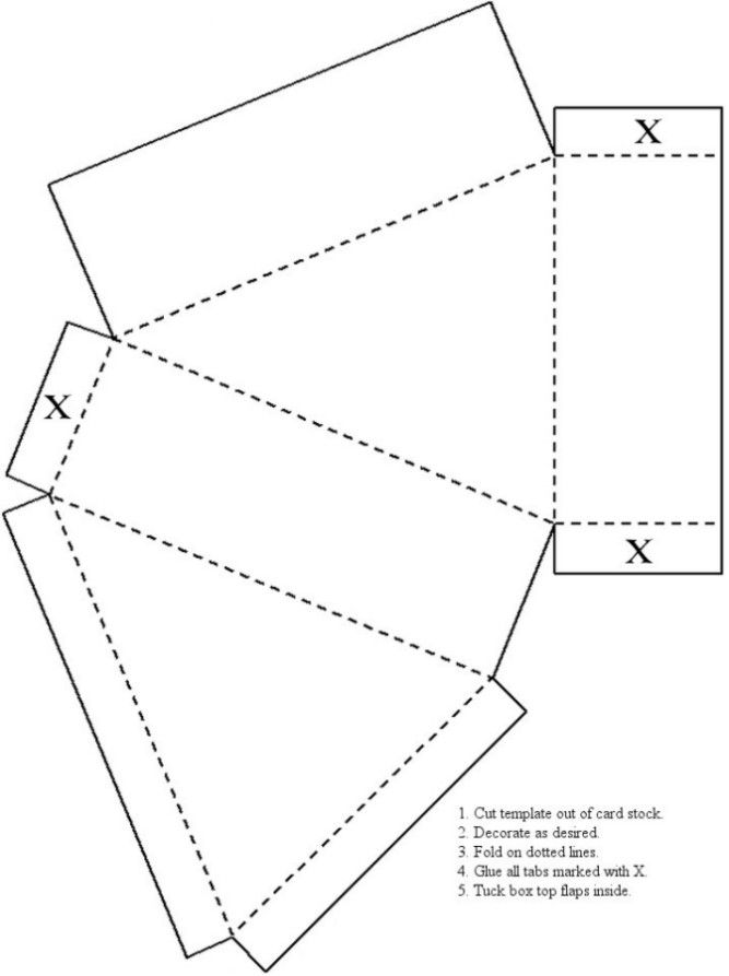 Box Templates And Paper Crafts