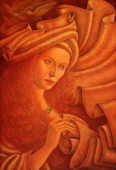 """HERNAN VALDOVINOS: """"Queen of heaven"""""""