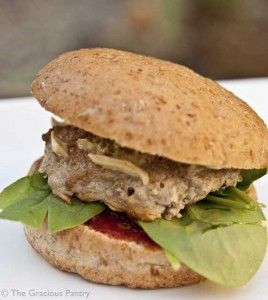 Clean Eating Baked Turkey Burgers