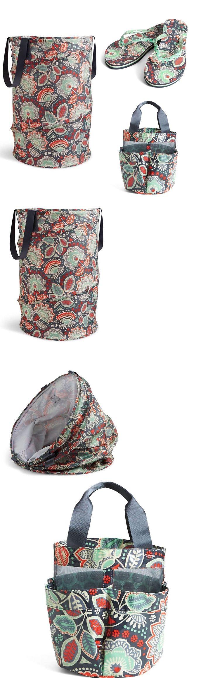 Vera Bradley Shower Curtains Ebay - Laundry bags 43516 vera bradley nomadic pop up laundry hamper and shower caddy dorm travel